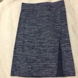 Gap Blue Midi Skirt with Slit